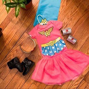Other - Wonder Woman Onesie, Detachable Cape + Tutu